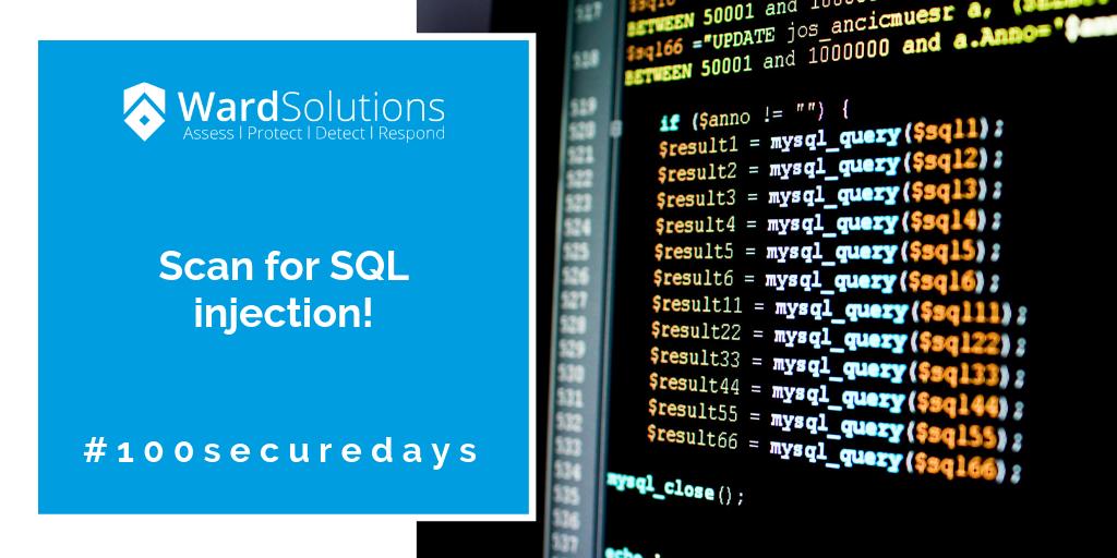 100securedays- week 9 - Ward Solutions