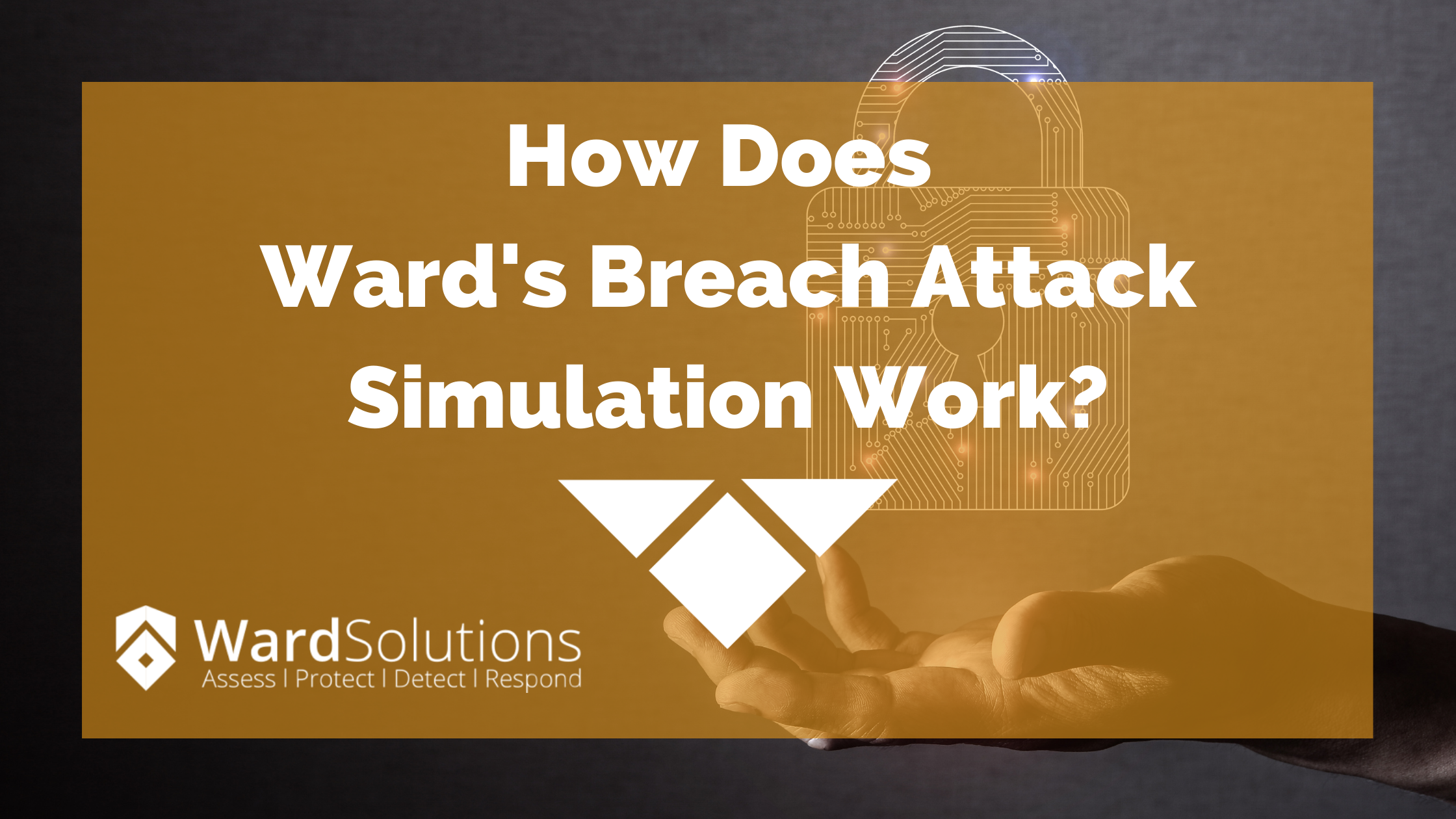 How does Wards Breach Attack Simulation Service work?